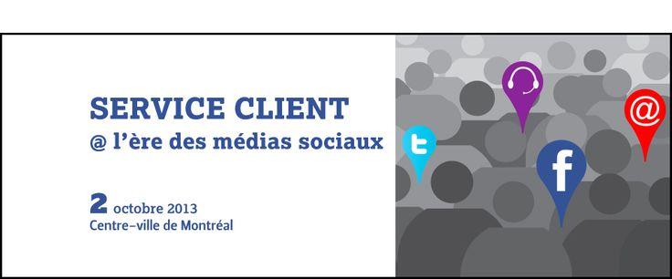 Évènement Les Affaires - Service Client @ l'ère des médias sociaux, 2 Octobre 2013