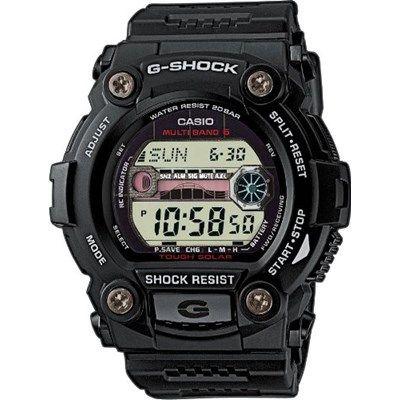 Chollo en Amazon España: Reloj de cuarzo Casio G-Shock GW-7900-1ER por 91,42€ (un 28% de descuento sobre el precio en otra tienda y precio mínimo histórico)