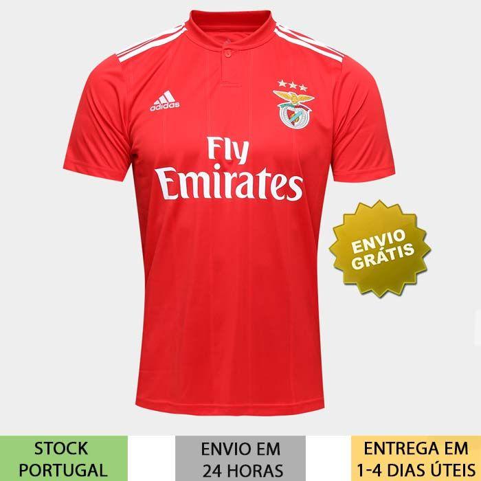 8de6b405998c56 Camisola Benfica 2018/2019 camisa principal de 2019 | Loja Moda ...