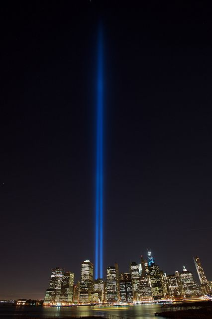 NYC. September 11 2012   Flickr: by minoxthecat - Never forget. I know I won't!