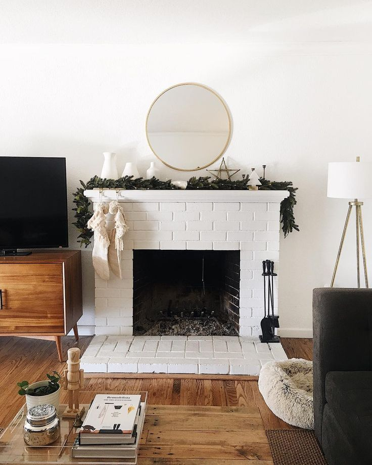 "184 Likes, 4 Comments - Nicole Wallace (@nicoledianne) on Instagram: ""Christmas cheer on the mantle at #wallycottage ✨wrapping gifts and watching Christmas movies…"""