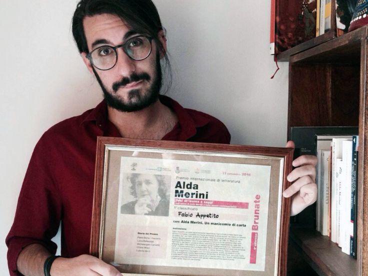 CORI - È Fabio Appetito il vincitore della 5^ edizione del Premio Internazionale…