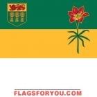 3' x 5' Saskatchewan High Wind, US Made Flag