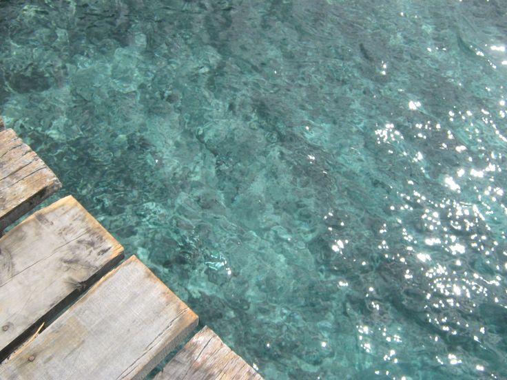 Agua y madera