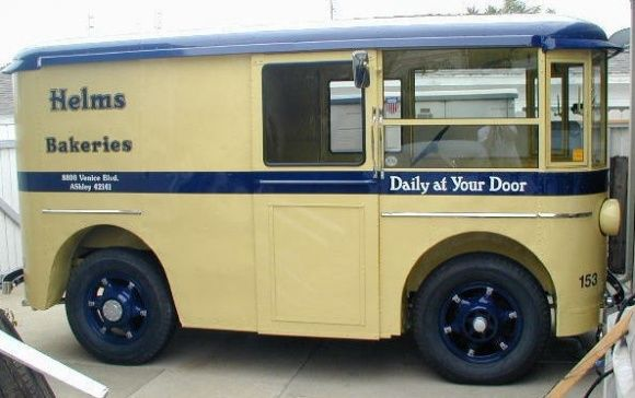 sick delivery truck. 1936 Divco-Twin