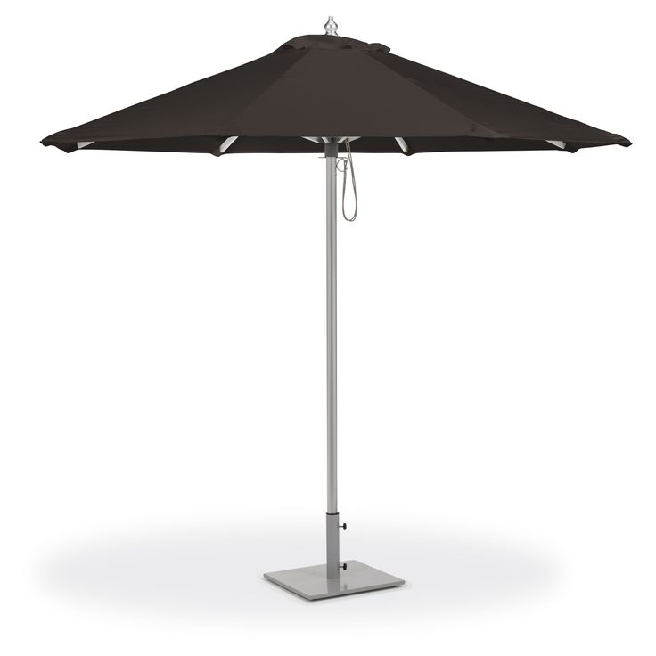 Oxford Garden 9 ft. Octagon Sunbrella Market Umbrella - UA9BK