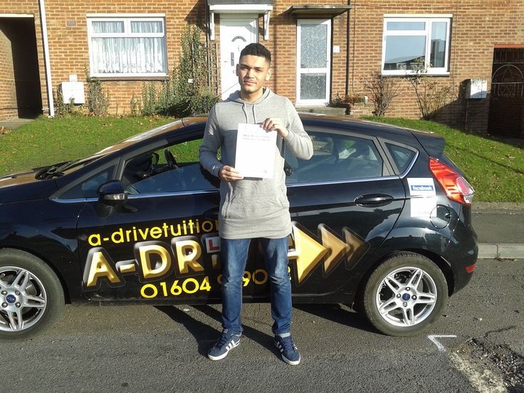 "Another congratulations to Ryan Sutherland of Northampton University who also managed to pass his practical driving test 1st time with again only 5 minor driving faults 3/12/14 at Northampton Driving Test Centre with Aidan Checketts of www.adrivetuition.co.uk  01604 930031  #Driving #Adrive #DrivingTest #DrivingSchools #DrivingLessons #DrivingInstructors #Northampton #Daventry  #Wellingborough   Ryan said ""Thank you Aidan for great driving mentoring. I am so pleased with my test result"""