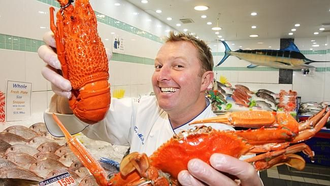Chef Tory McPhail tours the Sydney Fish Market. The chef from Commander's Palace in #NewOrleans, was brought here by BrandUSA, in partnership with the US Embassy, for a whistlestop tour, his first, to promote #American food and its diversity. Get some of Chef McPhail's #recipes here: http://goo.gl/w9qlEw