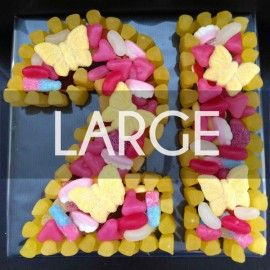 Number Sweet Cake - Large #sweets #sweetcakes