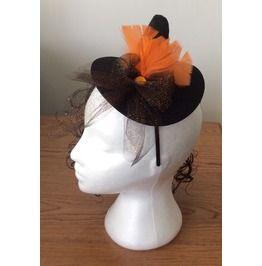 Handmade Mini Witches Hat Hairband Hair Fascinator