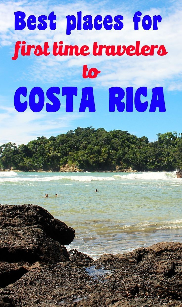 The best destinations in Costa Rica for first time visitors: all of these places are easily accessible, are tourist friendly and have plenty of fun things to do for every traveler. Click through to read more mytanfeet.com/...