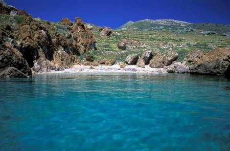 Anafi island, Beach Katelismata,  Greece