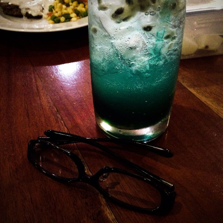 Glasses Journey with Bluish thing :))