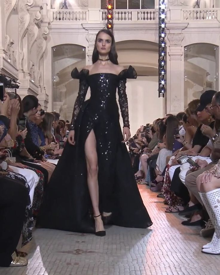 Elie Saab Look 46. Autumn Winter 2018/2019 Couture Collection 2