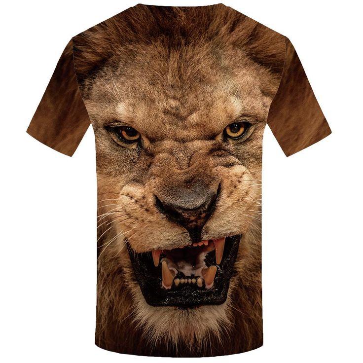 3D  Lion Shirt