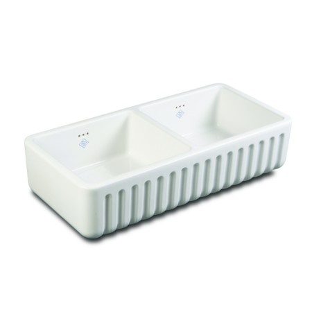 SHAWS SINKS - Shaws Ribchester Sink 800 FIRECLAY 795 x 465 x 228 mm
