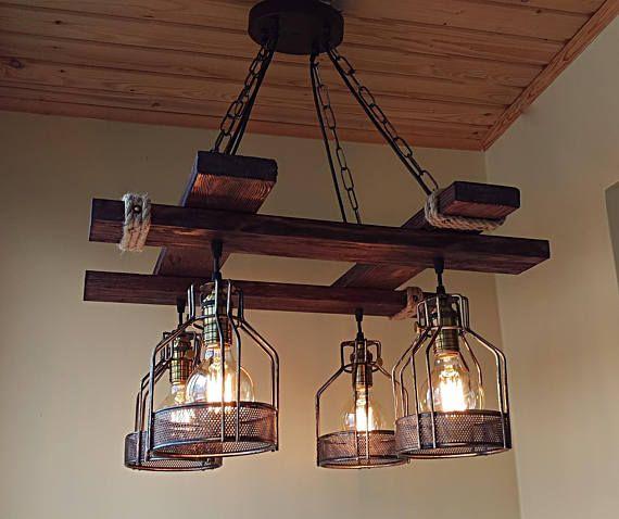 Rustic Light Fixture Hanging Light Rustic Lighting Rustic Light Fixtures Farmhouse Light Fixtures Rustic Pendant Lighting
