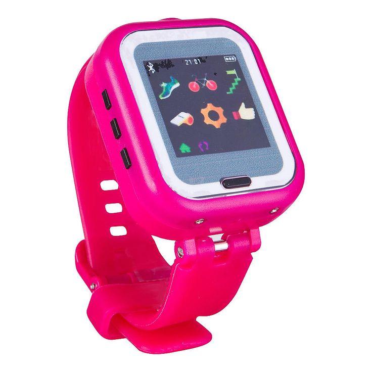 El Smartwatch 4 en 1 Rosa, es mucho más que un simple reloj, dispone de:<br><br><li>Aplicación de seguimiento de tu actividad deportiva(correr, saltar, ciclismo)<li>Panel de pantalla táctil<li>Grabador de vídeo e audio.<li>Control parental.<li>Alarma.<li>Bluetooth.<li>Puede realizar hasta 100 fotos.<li>Conpatible con iOS 7 y Android 4.3.<li>Más de 10 fondos de pantalla<li>Sincroniza de forma inalámbrica a al teléfono móv...