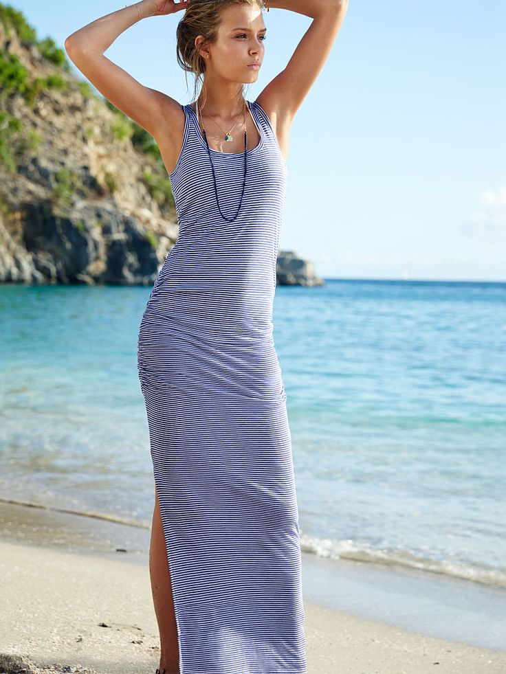 Ruched Maxi Dress - Victoria's Secret