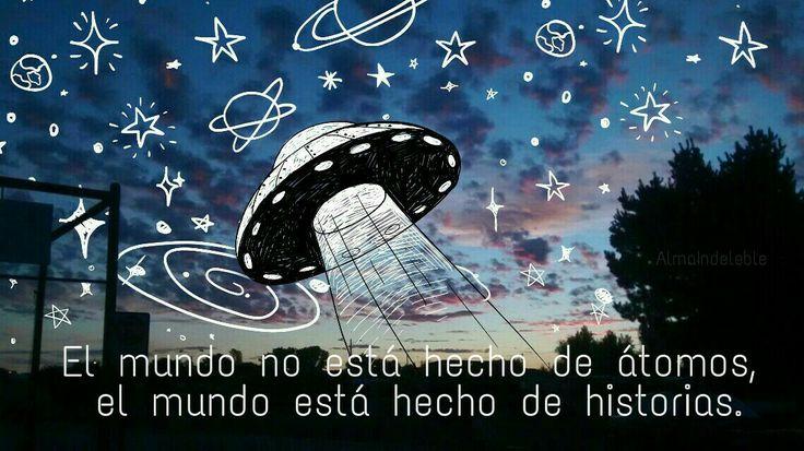 El mundo no está hecho de átomos, el mundo está hecho de historias. #LosPetitFellas - Antes de Morir