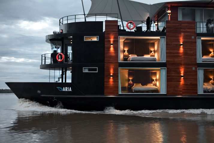 Explore The Amazon In A Luxurious Riverboat | http://www.yatzer.com/amazon-aqua-expeditions