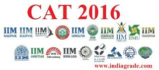 CAT 2016 Application Form Online Registration Apply Now IIM Common Admission Test 2016 Eligibility Exam Pattern - India Grade