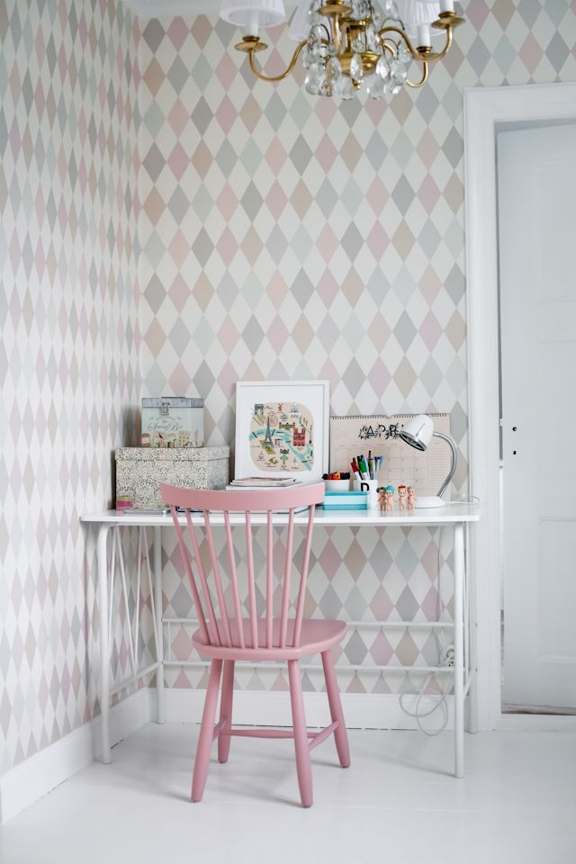 A charming little office nook.