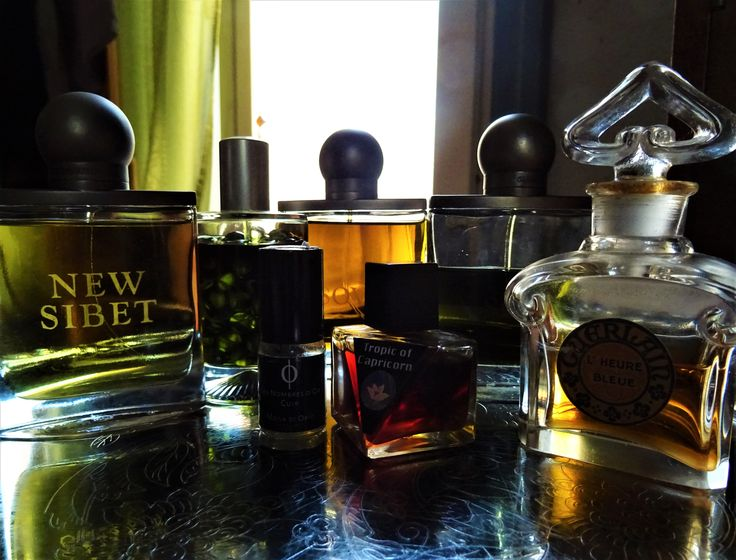 A selection of perfumes from my collection.