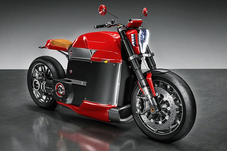 Tesla Model M - The concept motorcycle called Tesla Model M is a bike created by designer Jans Slapins. This independent designer has imagined a unique road-ready ...