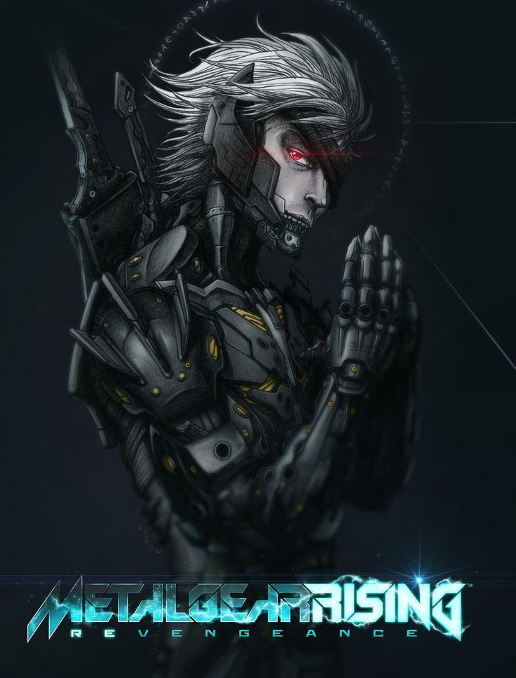 Metal Gear Rising Fan Art