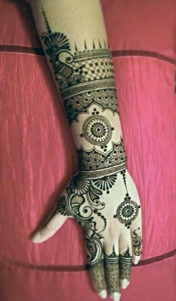 #mehendi #henna #art #design #hand #lovely