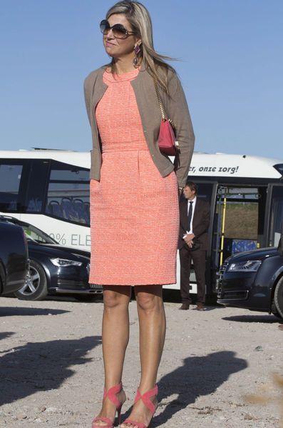 Queen Máxima made a working visit to Colijnsplaat and Zierikzee