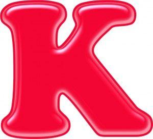 Красивые картинки буквы К — детские, раскраски, трафарет ...