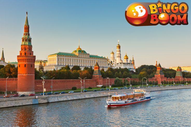 Бинго Бум Москва - Играть онлайн на http://BingoLive24.com