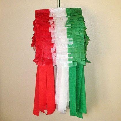 Mexican Flag Pinata by @amandaformaro