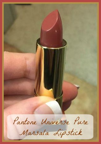 Color of the Year – Pantone Universe Pure Marsala Crème Lipstick at Sephora