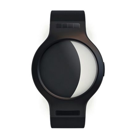 Barcelona studio The Emotion Lab have designed a watch that displays the phases of the moon. It comes with a black or white case and the face is divided into black and white areas depicting the moon's current phase. The following information is from the designers: Moonwatch The moon has been a guide and object