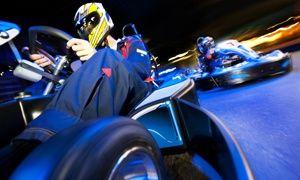 Groupon - One Go-Kart Race valid Weekdays or Weekends at SyKart Indoor Racing Center (Up to 33% Off) in Tigard Neighborhood Area 5. Groupon deal price: $10