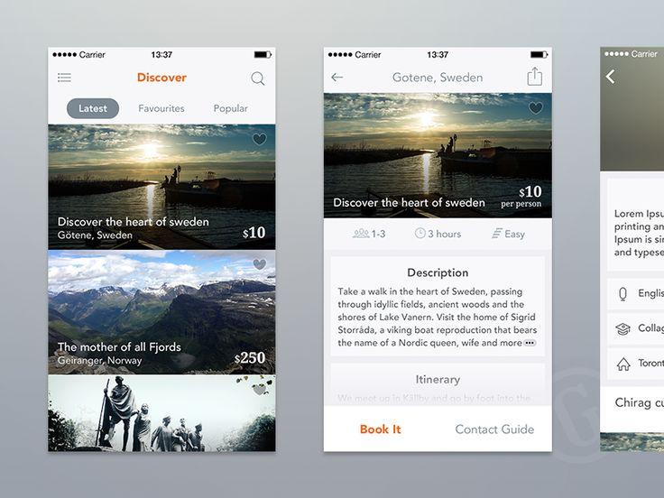 Travelling iPhone app