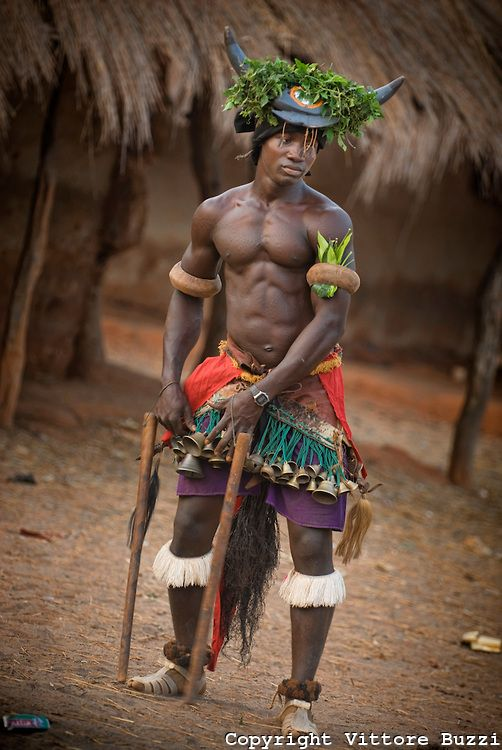 Africa | Dancer.  Bijagos Islands, Guinea Bissau | ©Vittore Buzzi   - Explore the World with Travel Nerd Nici, one Country at a Time. http://TravelNerdNici.com