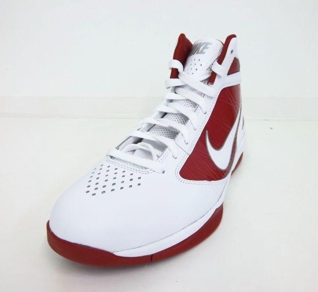 Nike Air Max Destiny TB Basketball Shoe 454140-105 White/Red Size 19 #