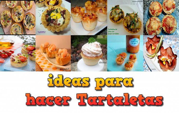 10 ideas para servir aperitivos en tartaletas blog - Aperitivos para baby shower ...