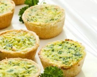 Mini quiches apéritives aux épinards sans gluten : Savoureuse et équilibrée | Fourchette & Bikini