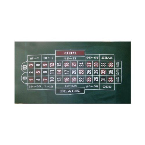 Trademark Poker Roulette Layout 36-Inch x 72-Inch by Trademark Global. $13.68. 10-3030 Features: -Felt roulette layout.-Roulette Layout 36 x 72 inch.-Great for beginners. Includes: -Instructions included.
