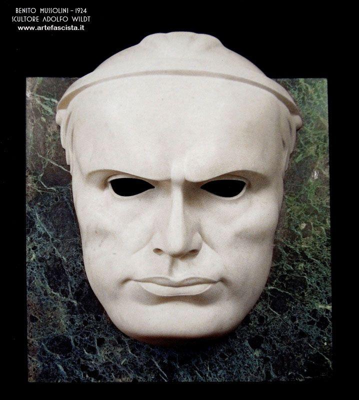 Wildt  Ritratto di Benito Mussolini (Benuto Mussolini's Portrait), 1924