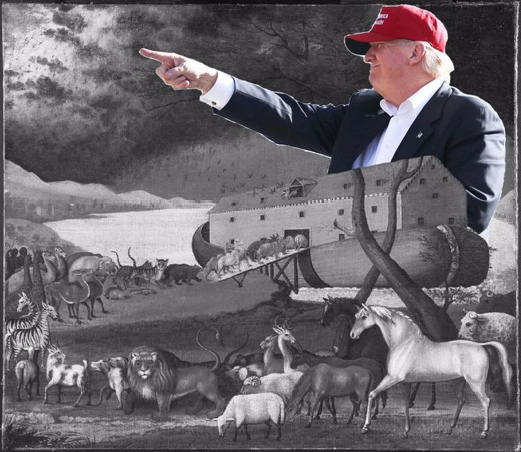 The Terrifying Thing Donald Trump and the Story of Noah Have in Common - Scribe – Forward.comThe Terrifying Thing Donald Trump and the Story of Noah Have in Common