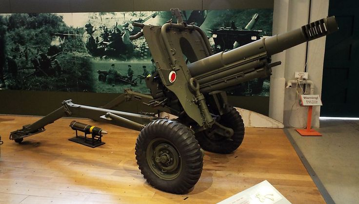Italian 105mm Pack Howitzer L10A1 1964 Firepower Museum
