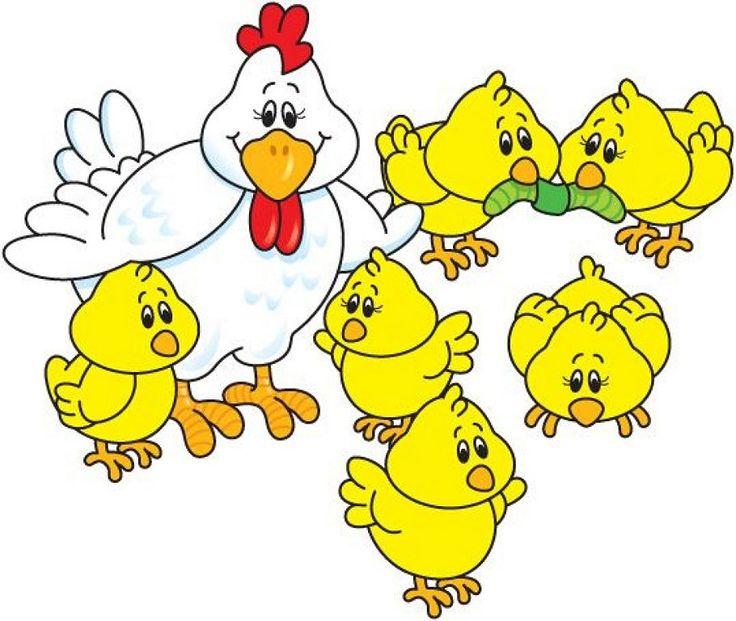 Курочка с цыпленком картинки для детей, для картинки картинки
