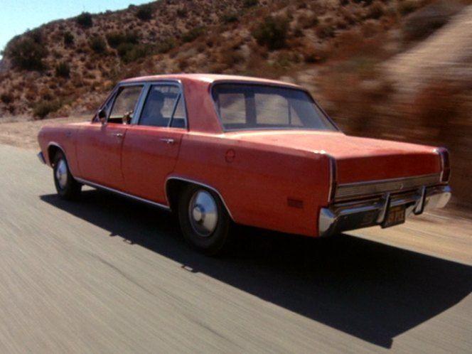 """Plymouth Valiant """" El diablo sobre ruedas """" ( Duel )"""