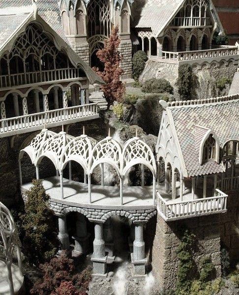 Rivendell, I would love to make this as my house...that'd be a pretty big house, but for sure I'd wake up every morning utterly giddy!